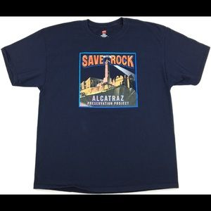 Save The Rock Alcatraz Preservation Project Shirt